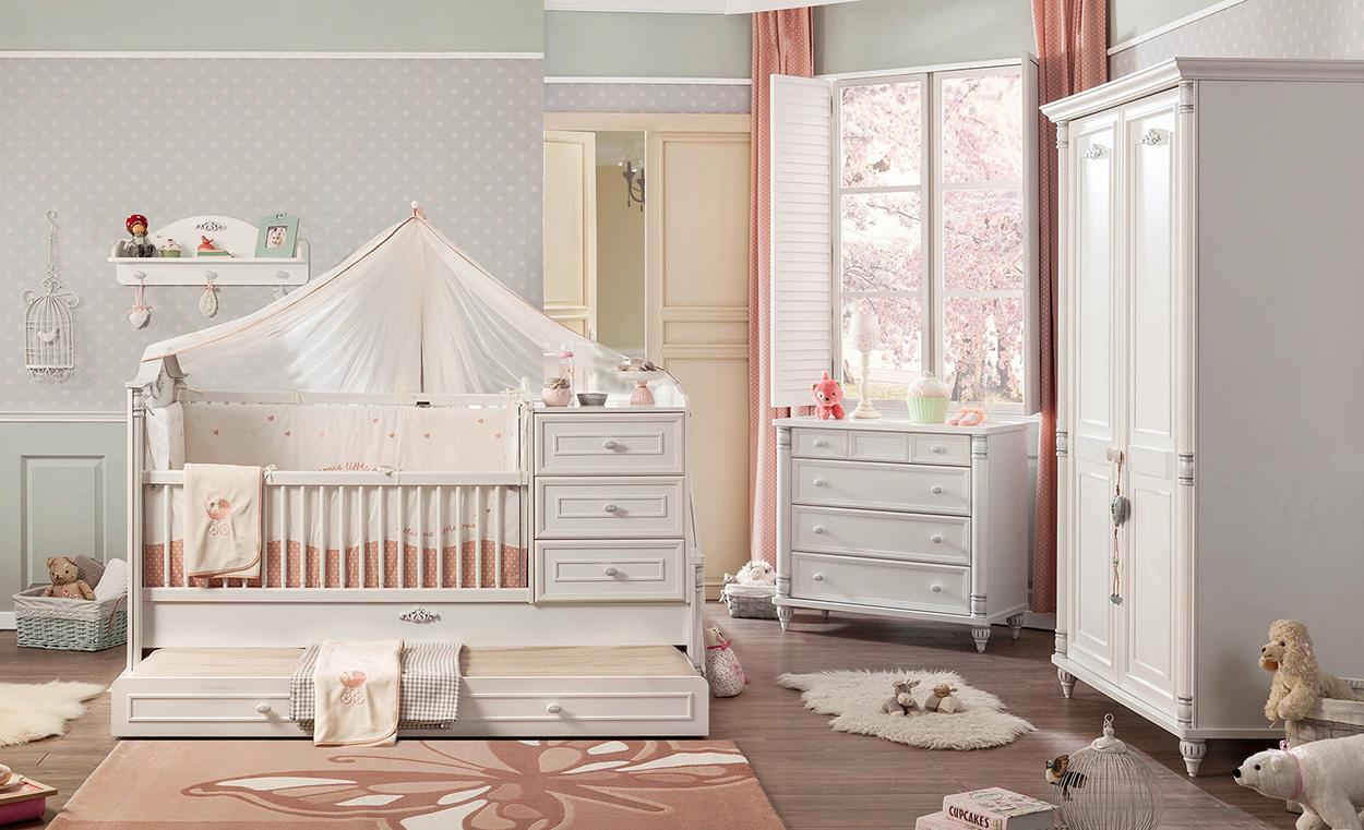 cilek fairy babybett set cilek komplett babyzimmer. Black Bedroom Furniture Sets. Home Design Ideas