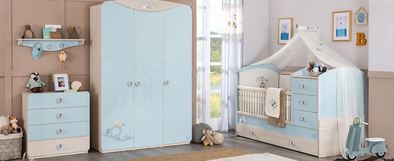 Cilek Baby Boy Babyzimmer Slide-1