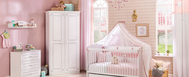 Cilek Selena Baby Babyzimmer Slide 1